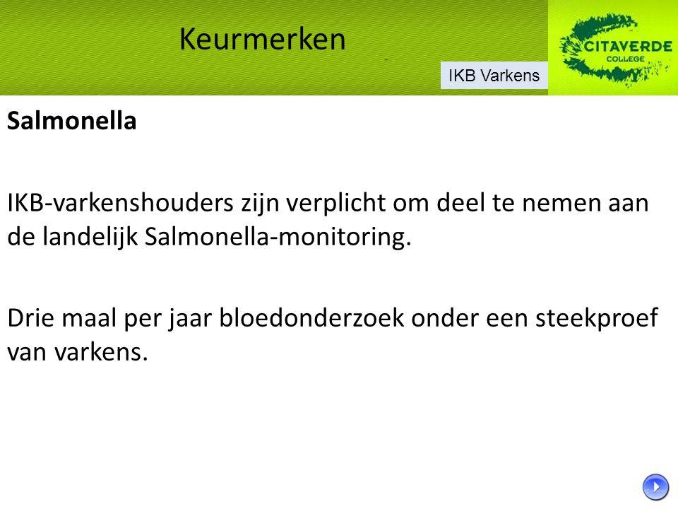 Keurmerken Salmonella