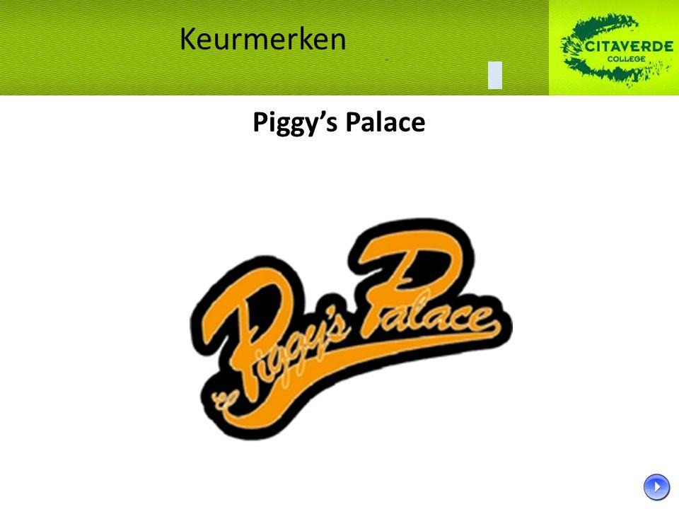 Keurmerken Piggy's Palace 34