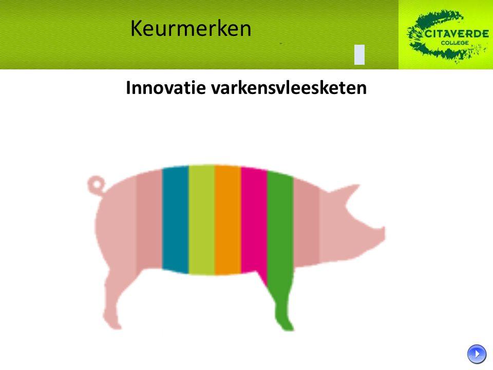 Innovatie varkensvleesketen