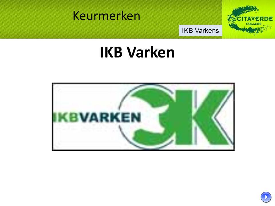 Keurmerken IKB Varkens IKB Varken 6