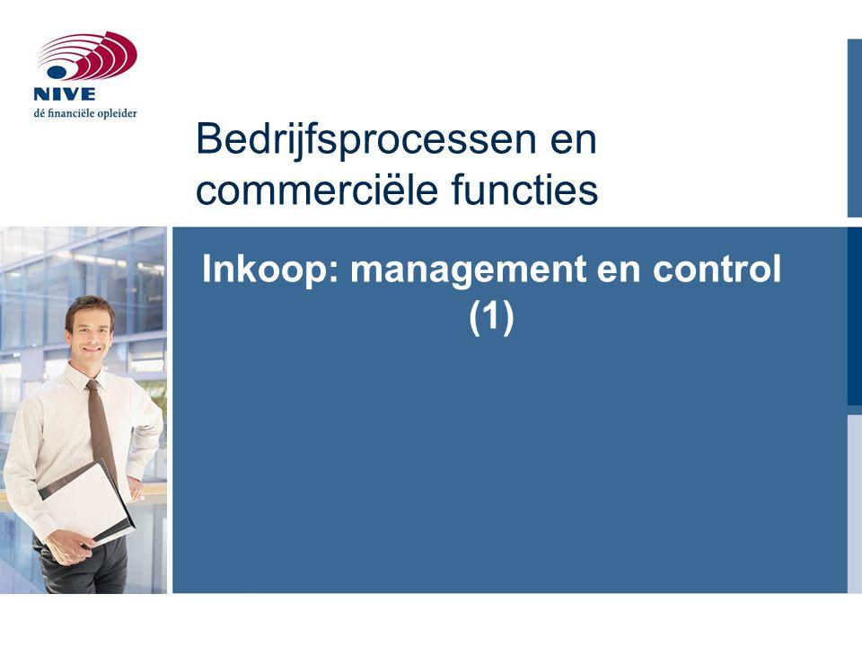 Bedrijfsprocessen en commerciële functies