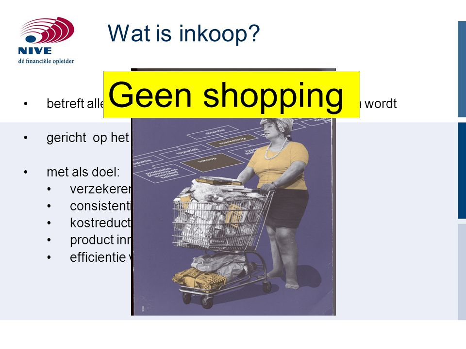 Geen shopping Wat is inkoop