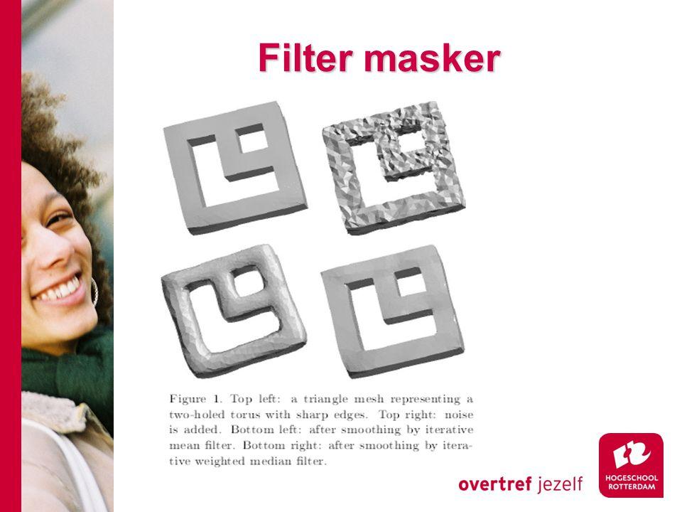 Filter masker
