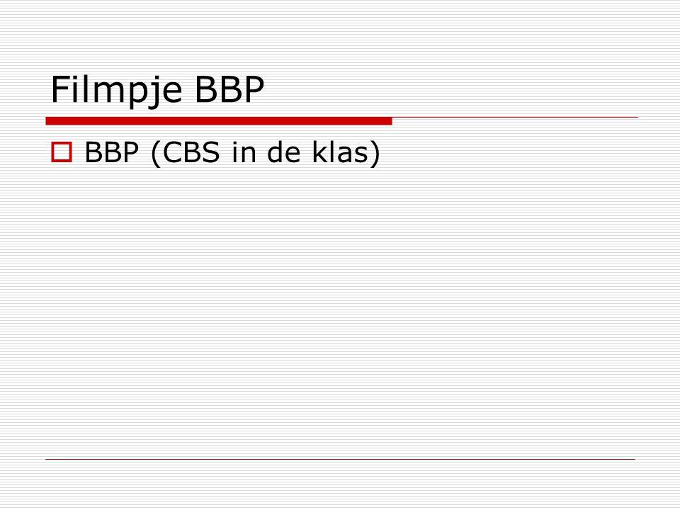 Filmpje BBP BBP (CBS in de klas)