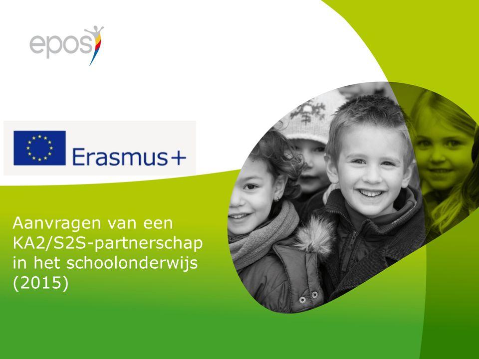 Aanvragen van een KA2/S2S-partnerschap in het schoolonderwijs (2015)