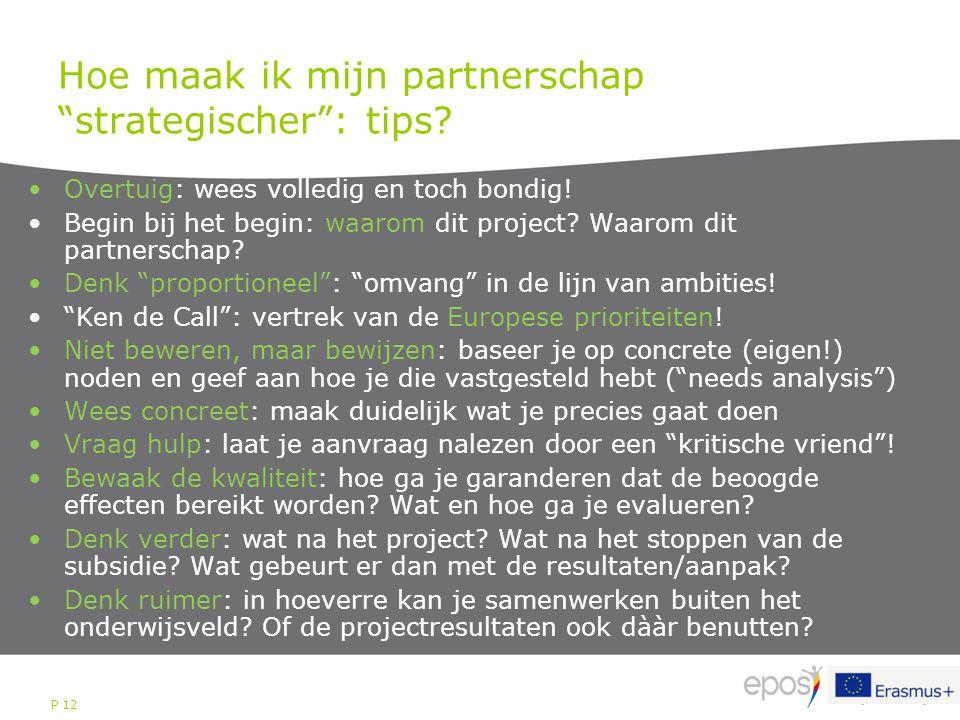 Hoe maak ik mijn partnerschap strategischer : tips