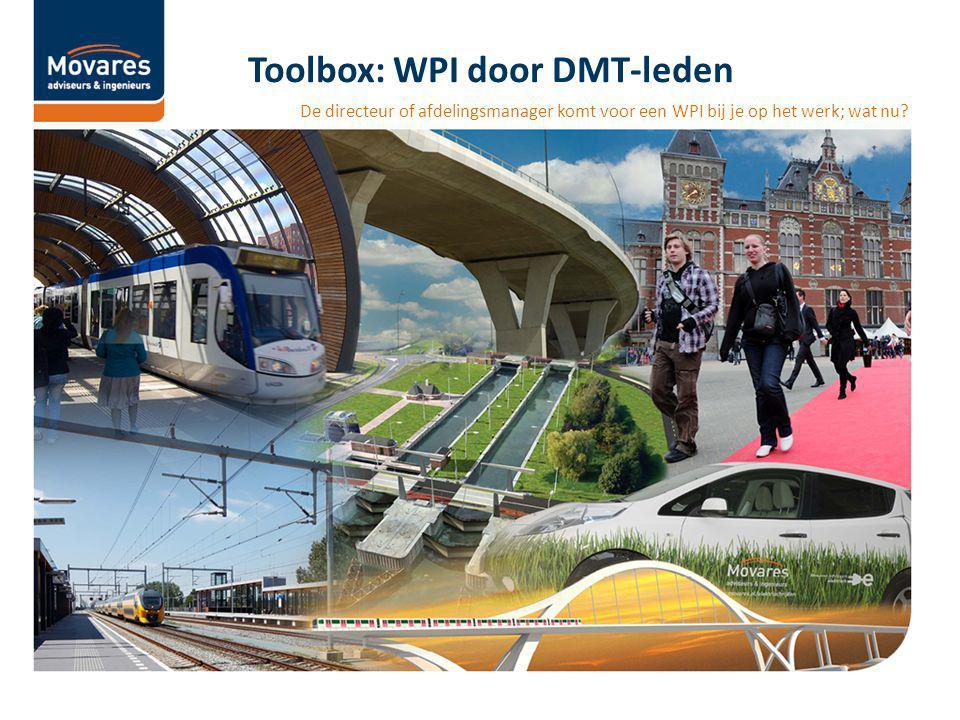 Toolbox: WPI door DMT-leden