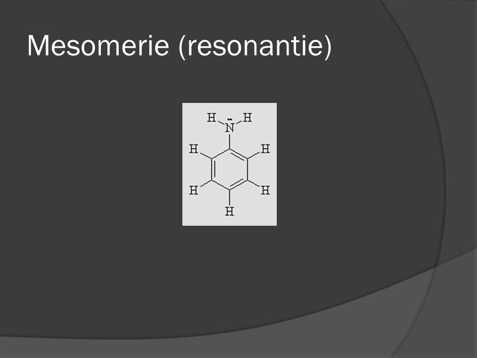 Mesomerie (resonantie)