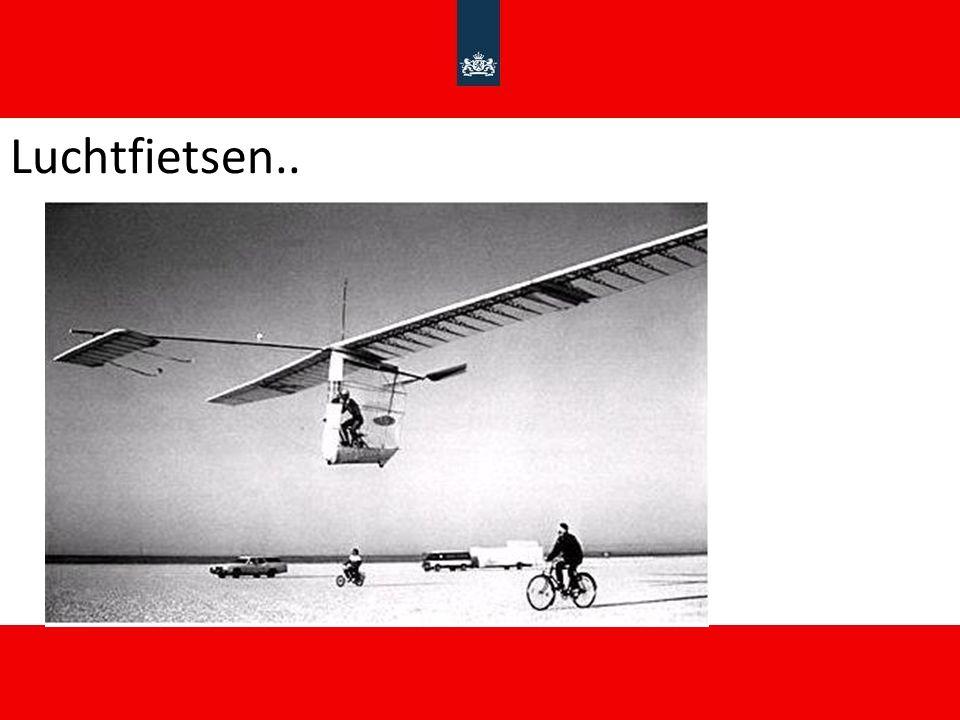 Luchtfietsen..