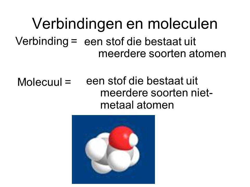 Verbindingen en moleculen