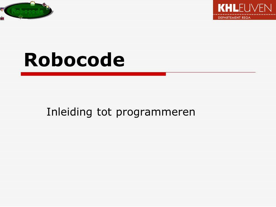 Inleiding tot programmeren
