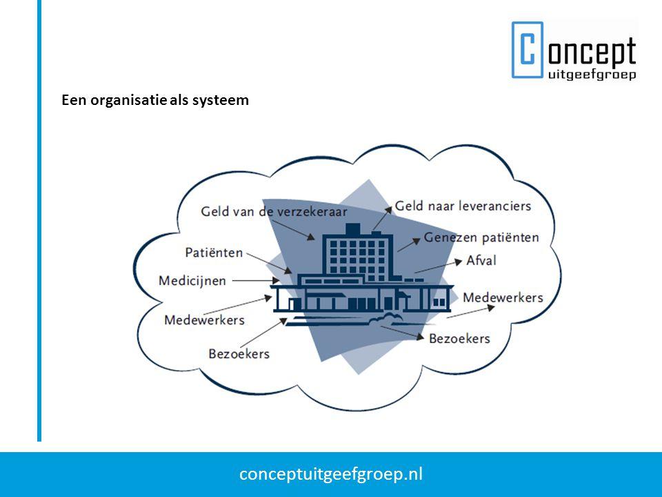 Een organisatie als systeem