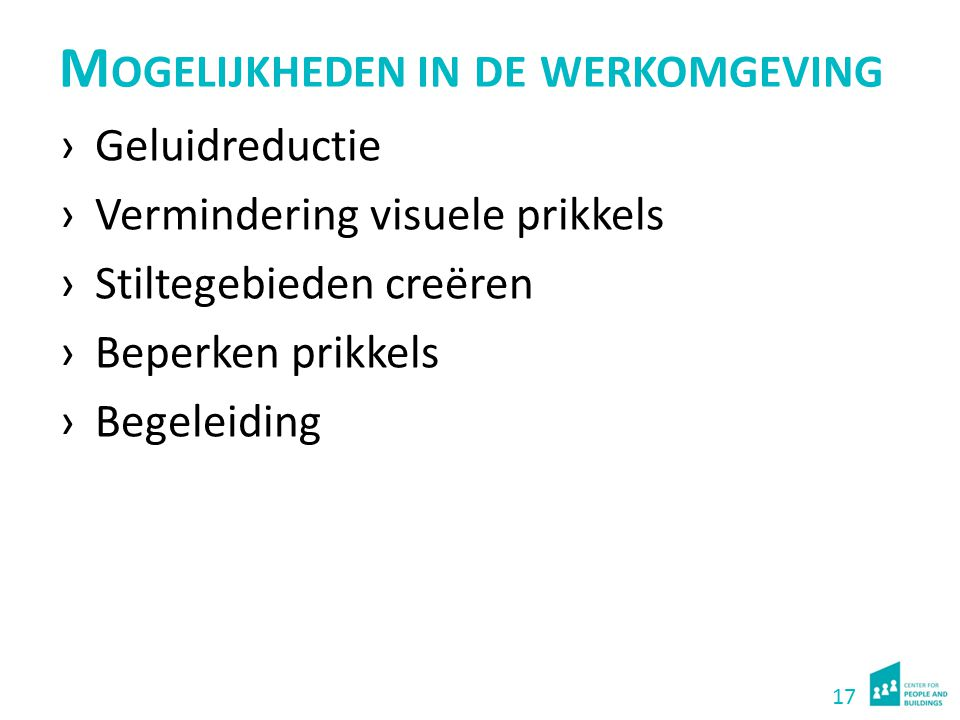 Initiatieven CfPB Onderzoeksvoorstel 'Werkplek voor iedereen' Korte verkenning provincie Gelderland.