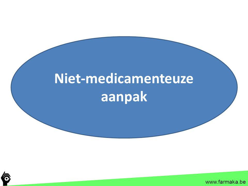 Niet-medicamenteuze aanpak