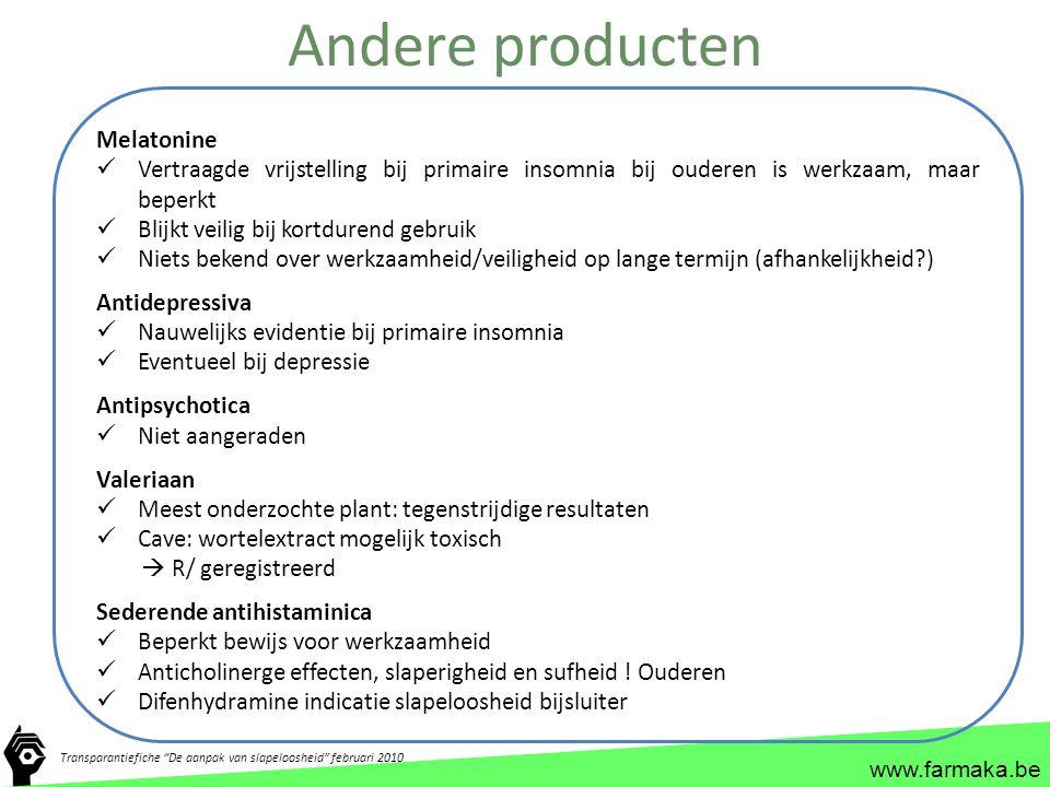 Andere producten Melatonine