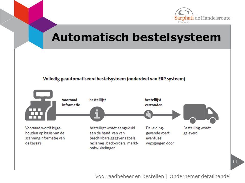 Automatisch bestelsysteem