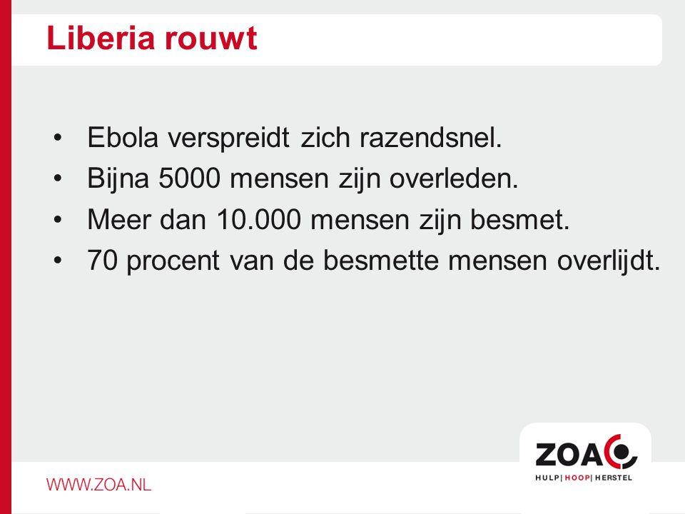 Liberia rouwt Ebola verspreidt zich razendsnel.