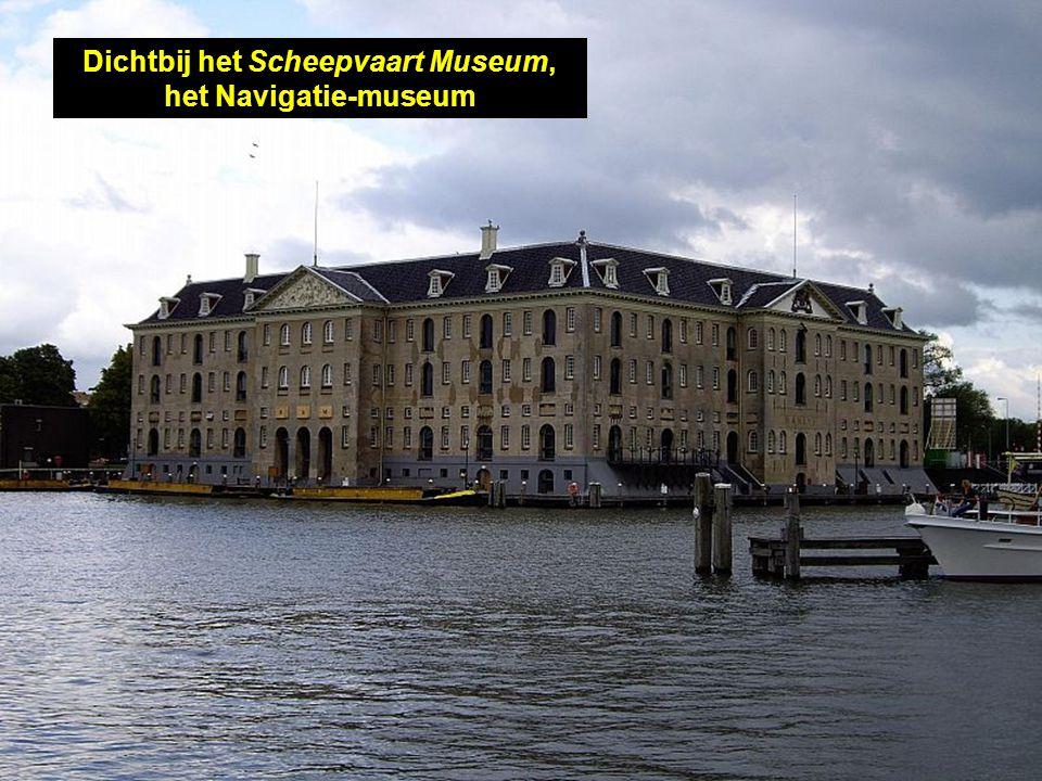 Dichtbij het Scheepvaart Museum, het Navigatie-museum