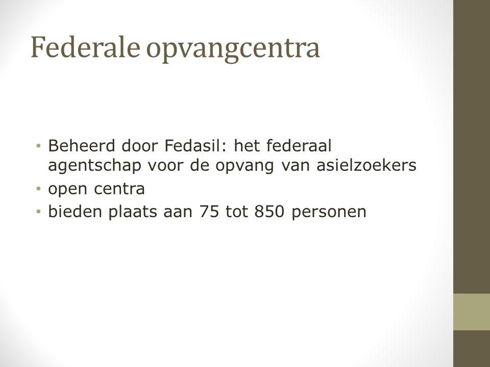 Federale opvangcentra