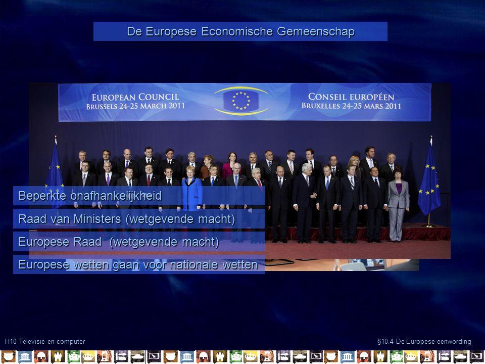 De Europese Economische Gemeenschap
