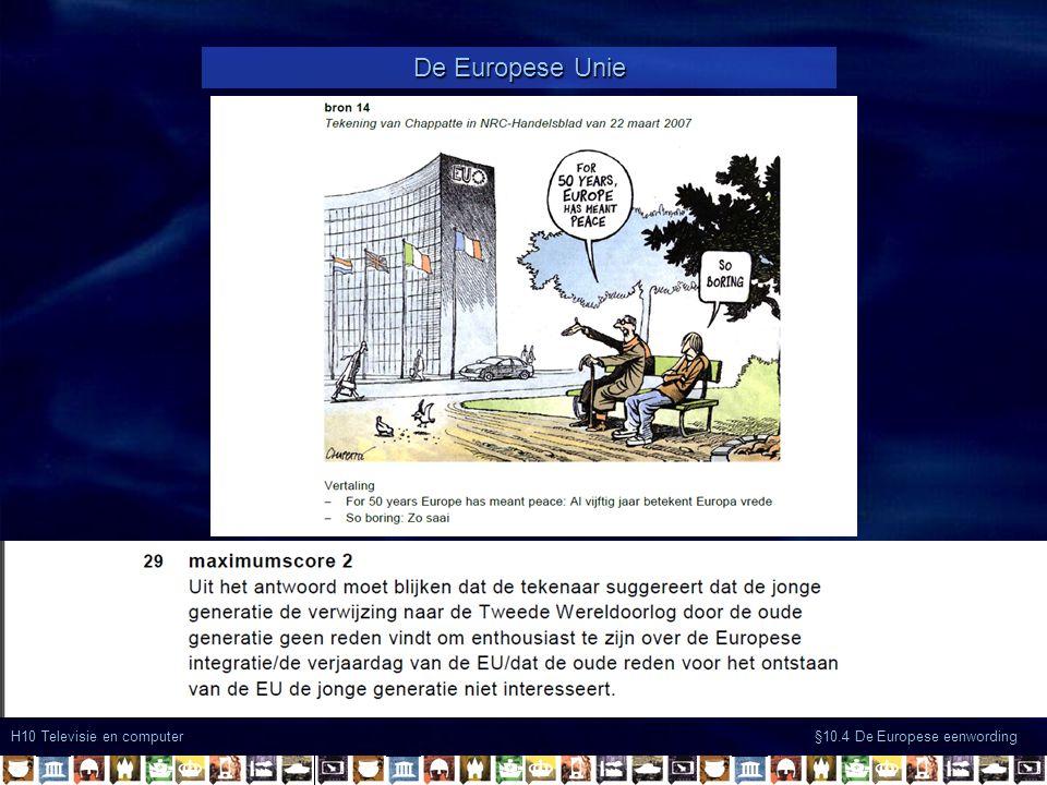 De Europese Unie H10 Televisie en computer