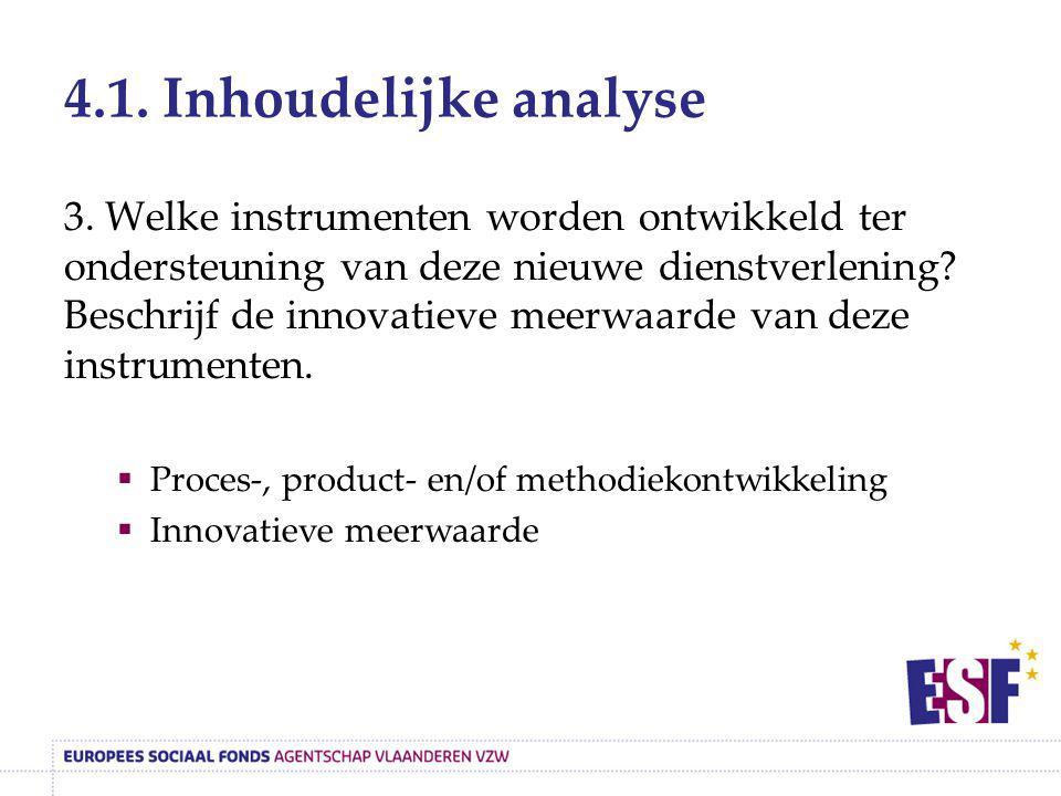 4.1. Inhoudelijke analyse