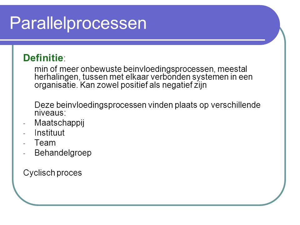 Parallelprocessen Definitie: