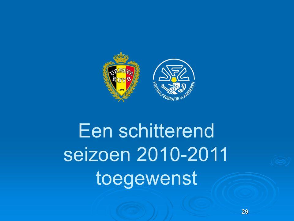 Een schitterend seizoen 2010-2011 toegewenst 29