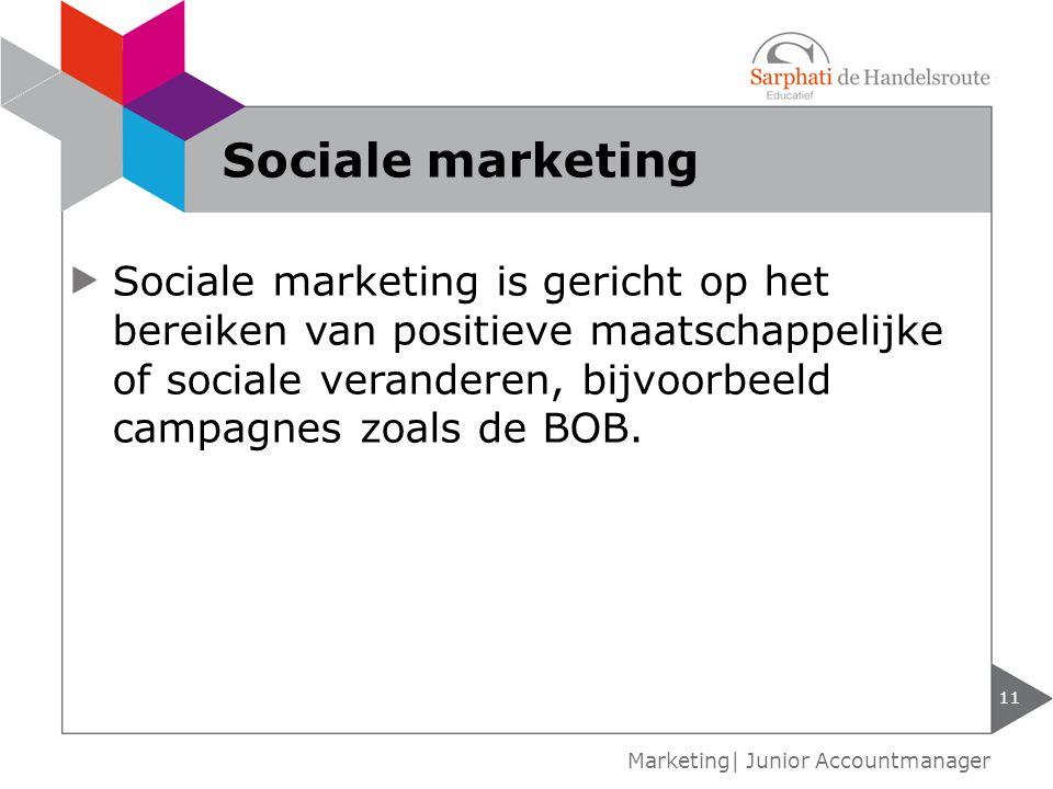 Sociale marketing
