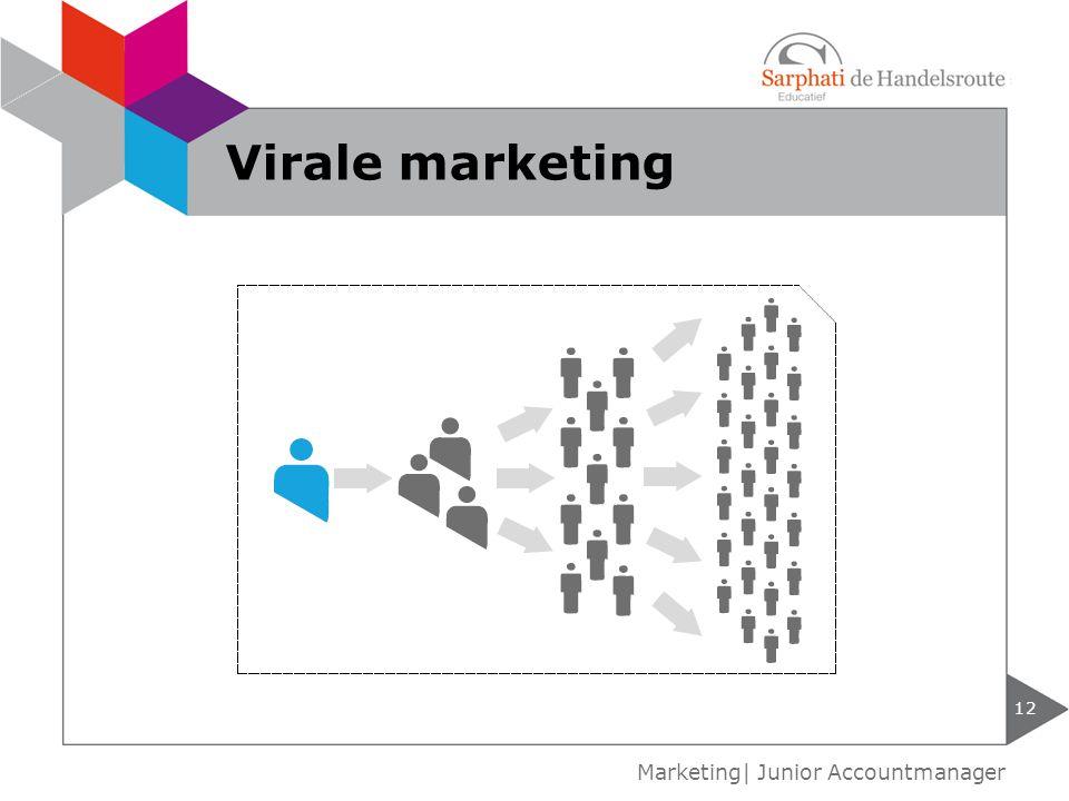 Virale marketing Marketing| Junior Accountmanager