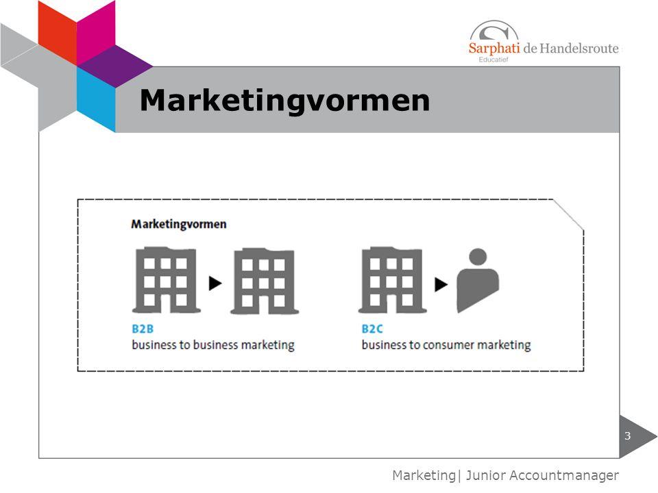 Marketingvormen Marketing| Junior Accountmanager