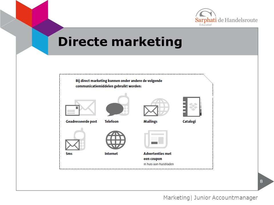 Directe marketing Marketing| Junior Accountmanager