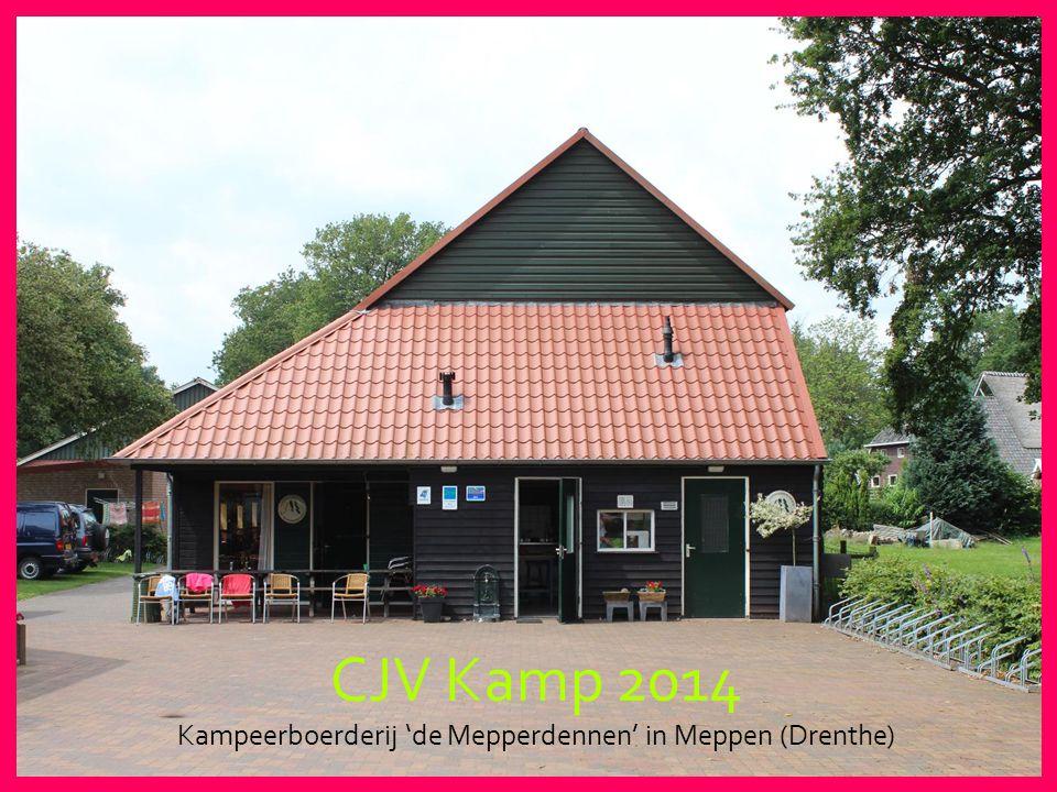 Kampeerboerderij 'de Mepperdennen' in Meppen (Drenthe)