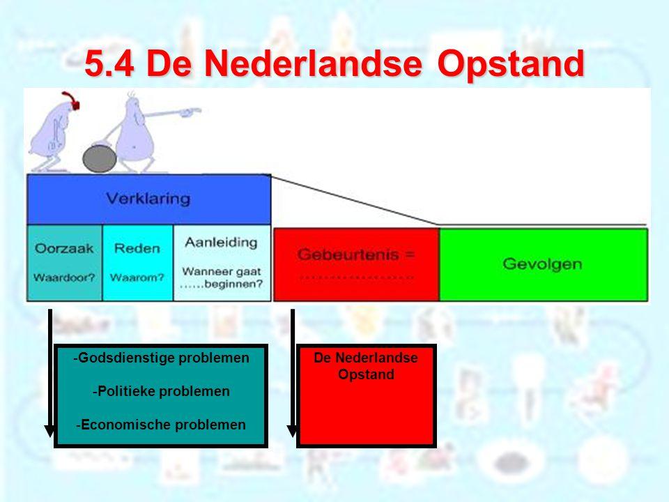5.4 De Nederlandse Opstand