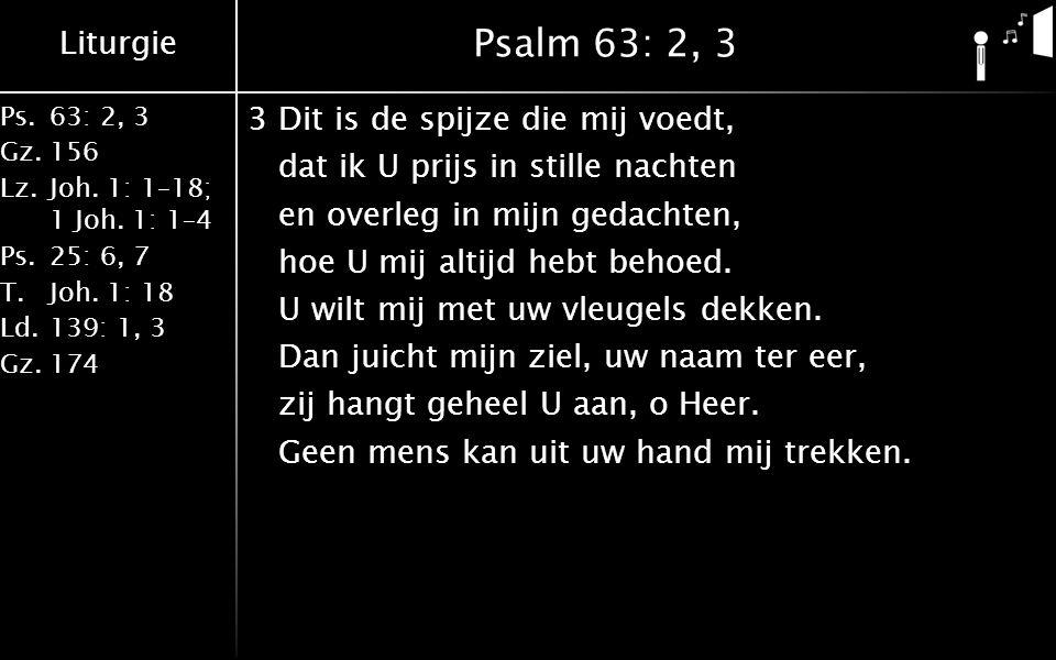 Psalm 63: 2, 3