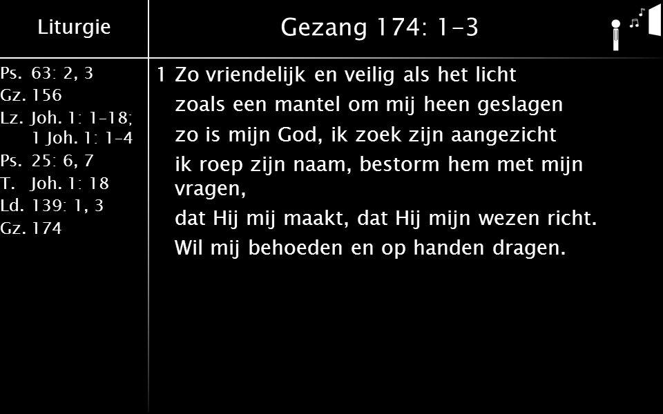 Gezang 174: 1-3