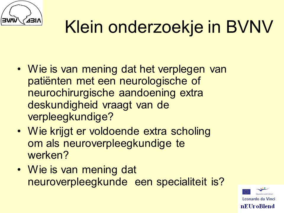 Klein onderzoekje in BVNV