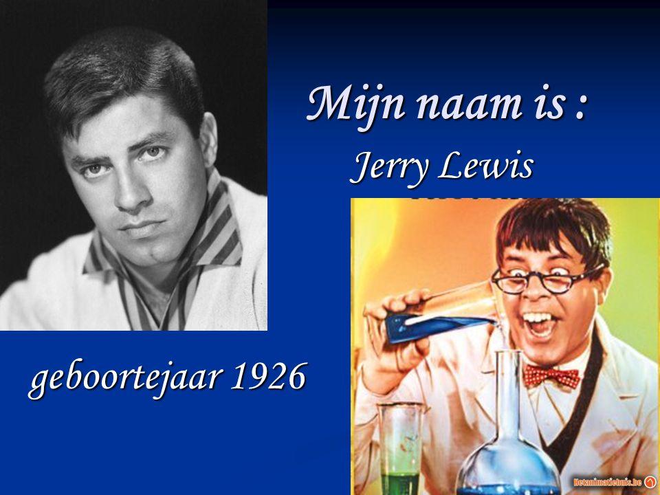Jerry Lewis geboortejaar 1926