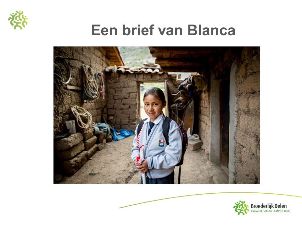 Een brief van Blanca