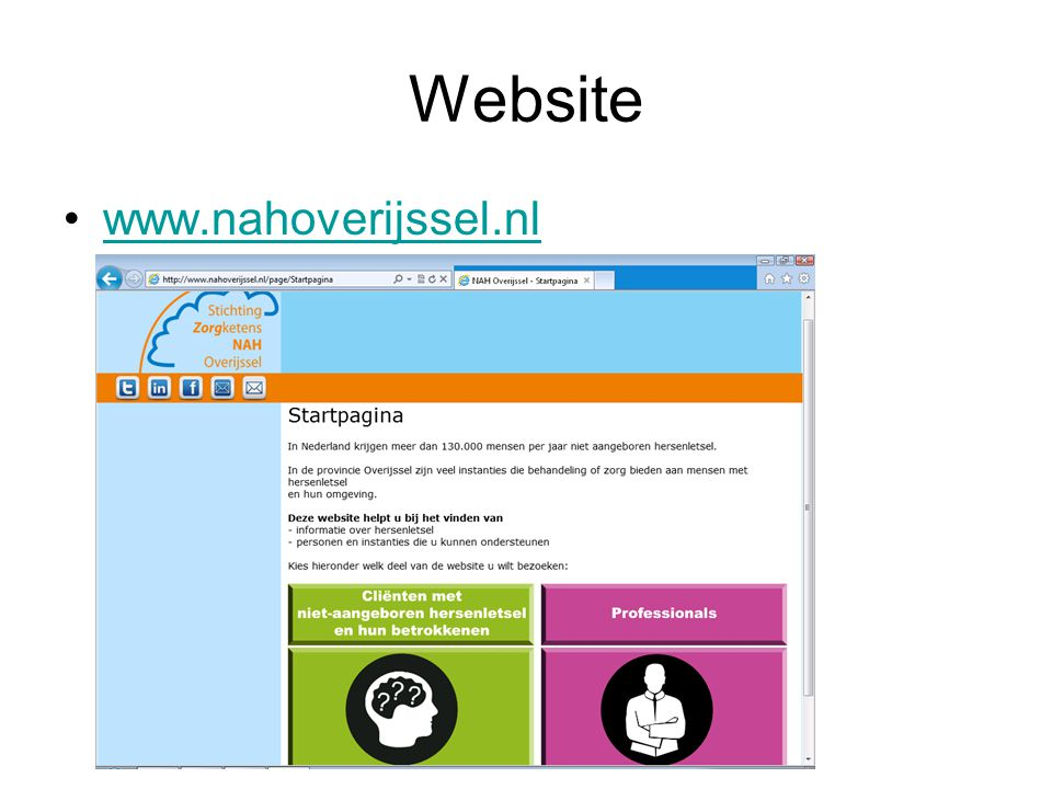 Website www.nahoverijssel.nl