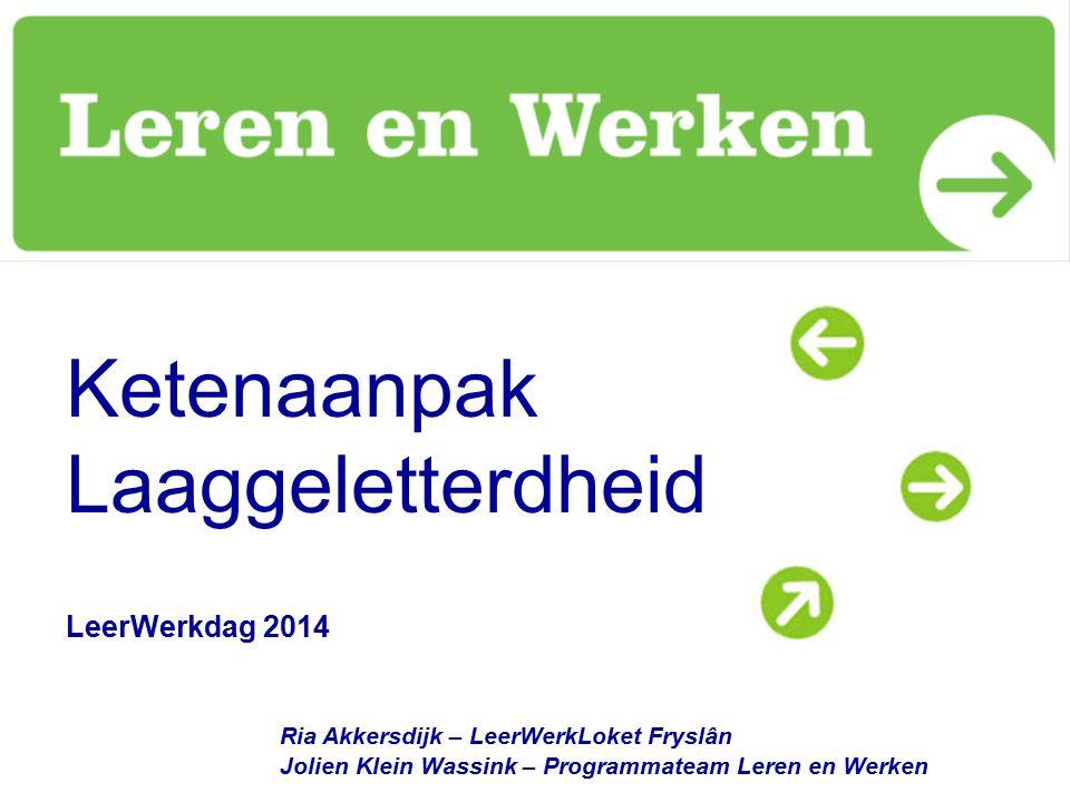 Ketenaanpak Laaggeletterdheid LeerWerkdag 2014