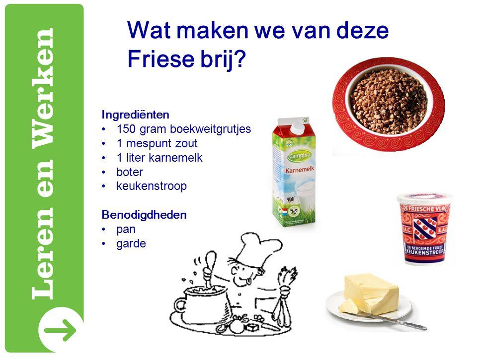 Wat maken we van deze Friese brij