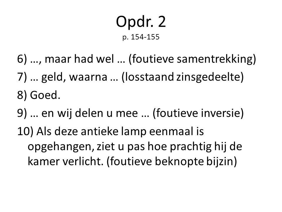 Opdr. 2 p. 154-155