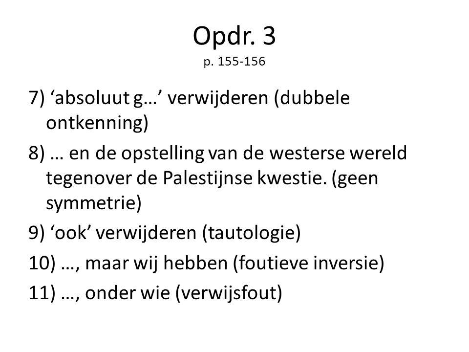 Opdr. 3 p. 155-156