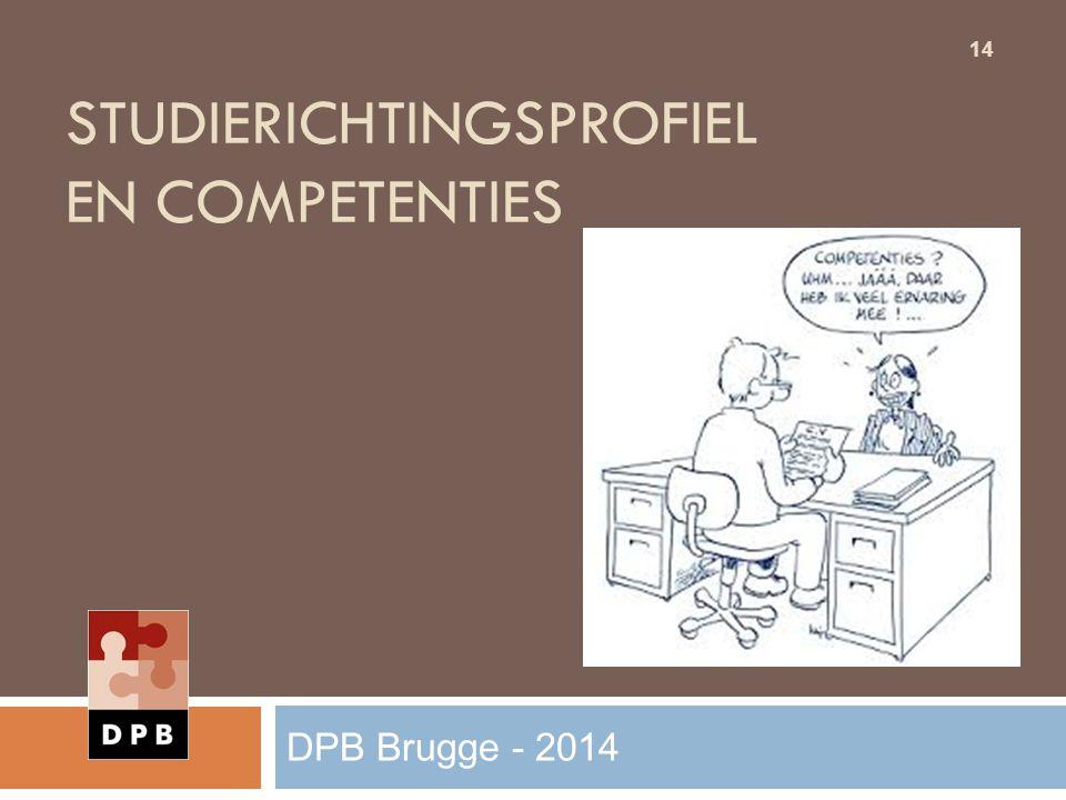 Studierichtingsprofiel en competenties