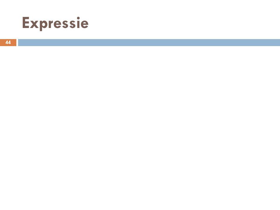 Expressie