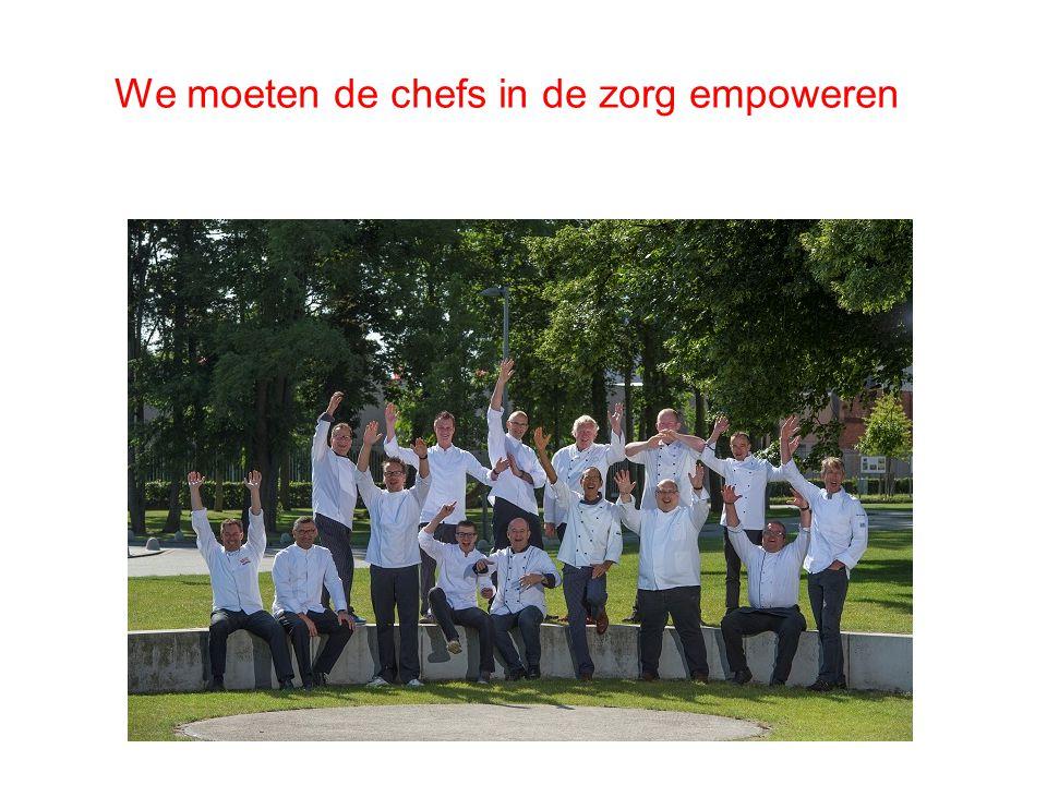 We moeten de chefs in de zorg empoweren