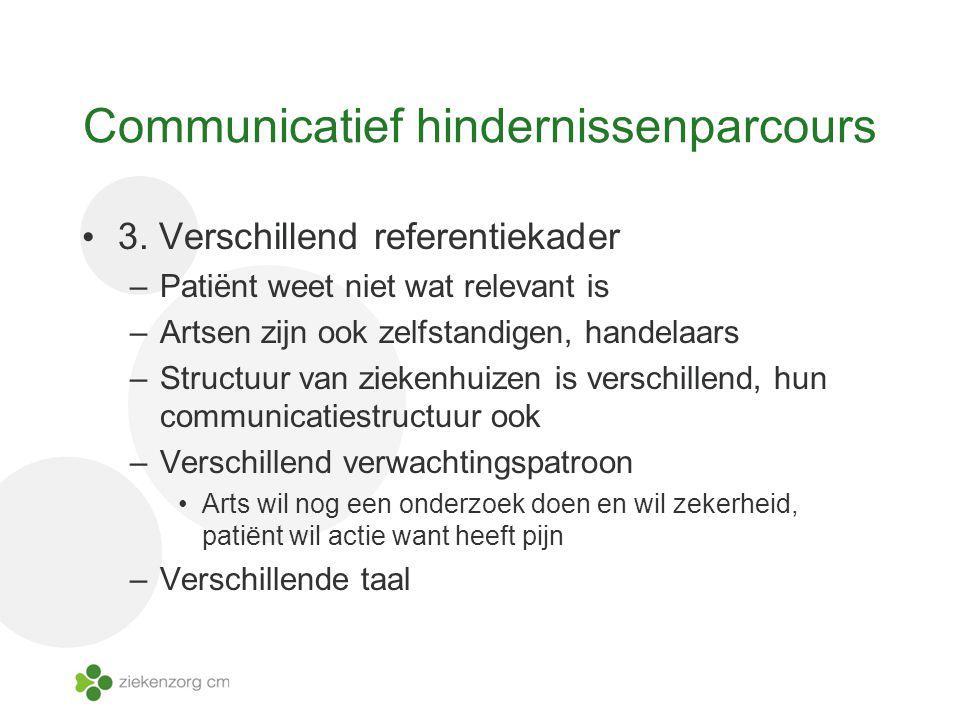 Communicatief hindernissenparcours