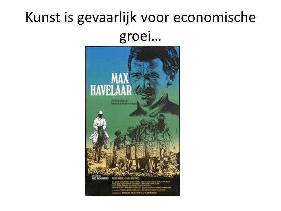 Kunst is gevaarlijk voor economische groei…