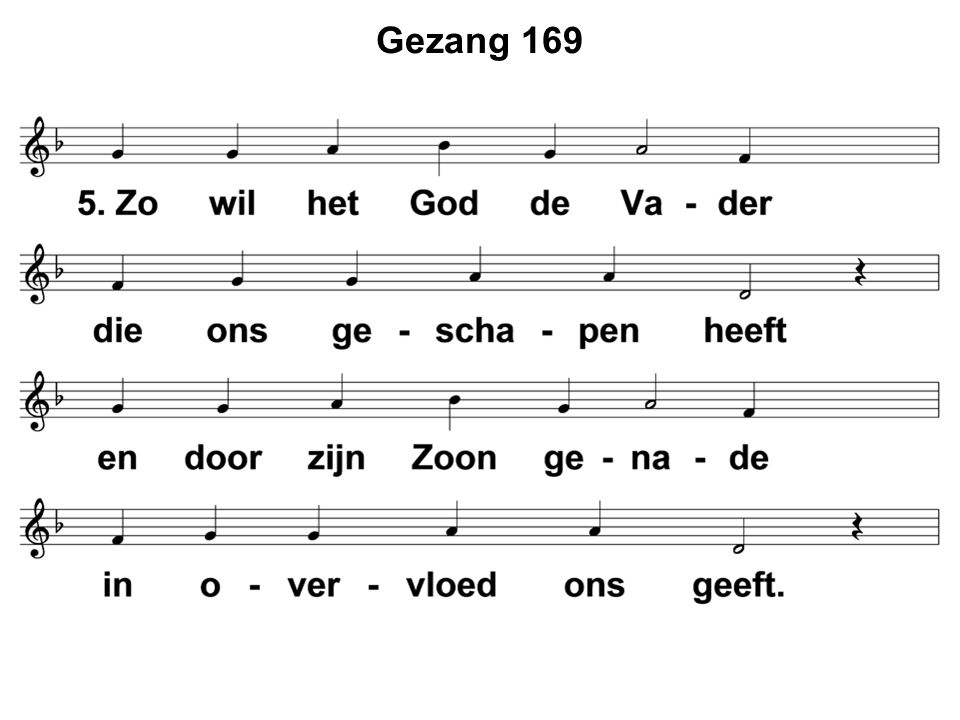 Gezang 169